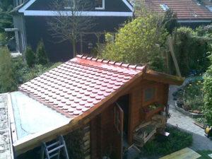 Gartenhausbedachung