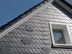 Fassade aus Naturschiefer