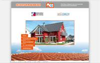 Website des Zentralverband des Deutschen Dachdeckerhandwerks